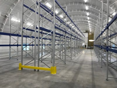 "Pallet racks in the warehouse of firm ""Pireka"""